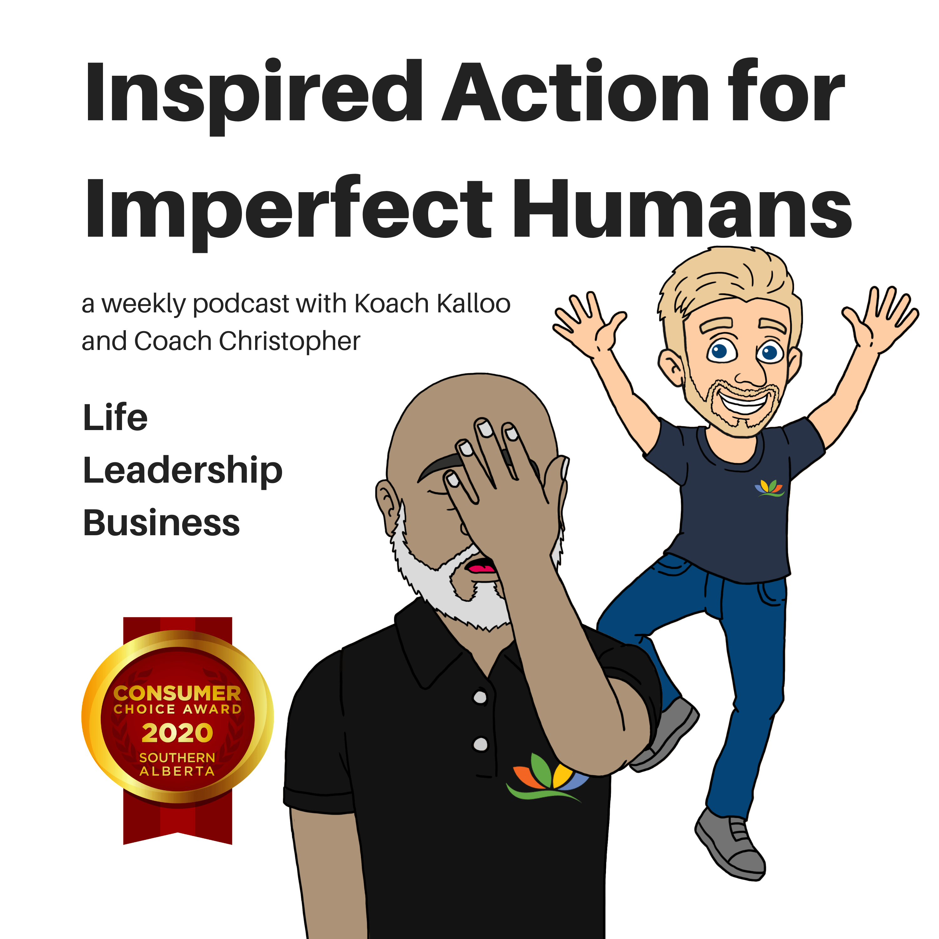 """Image for the """"Inspired Action for Imperfect Humans"""" Podcast"""