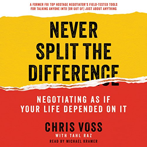 Negotiate NOW!! Never Split The Difference | Change My Life Coaching