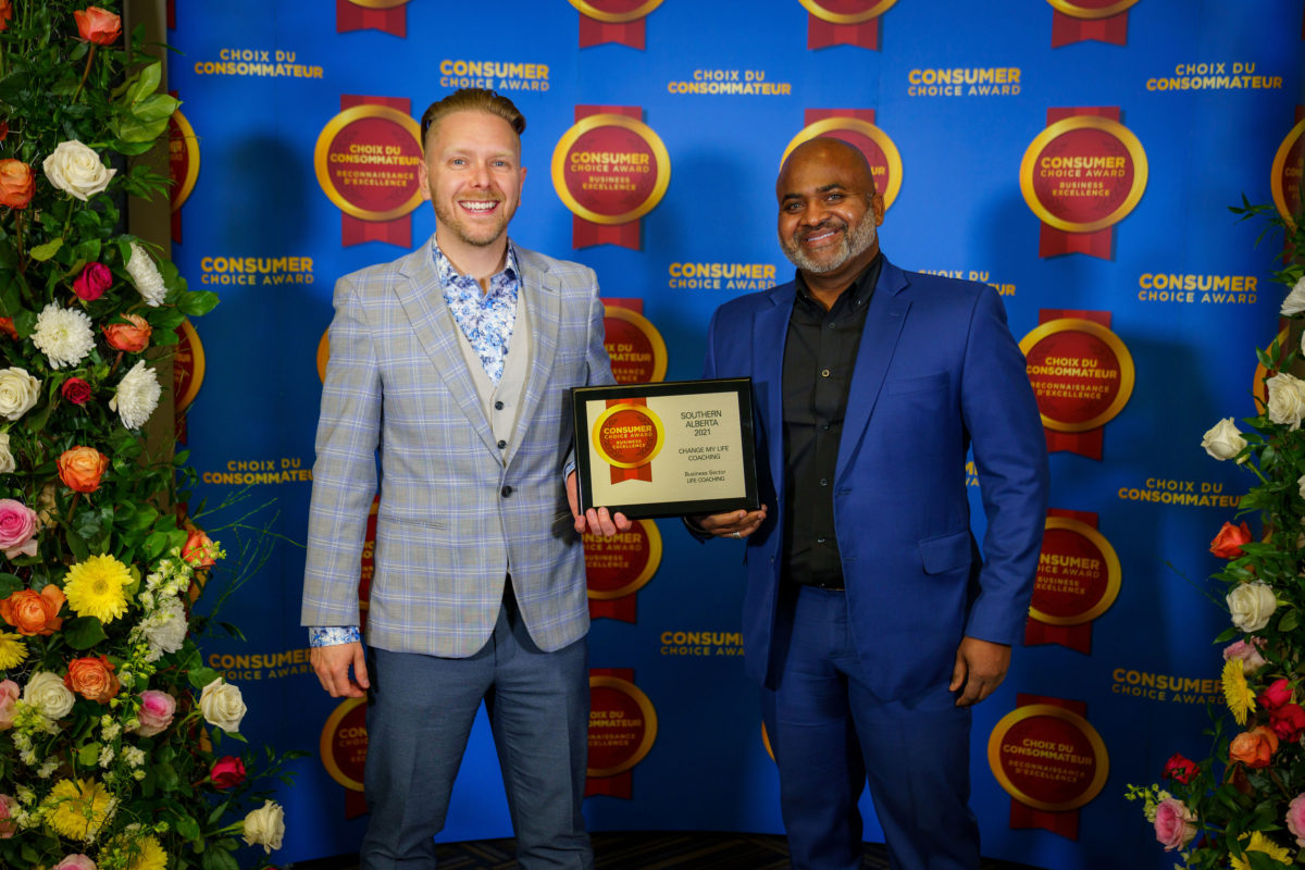 Change My Life Coaching receives CCA award 2nd year in a row!