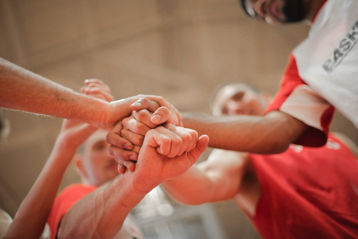 Sports groups can be a form of community.