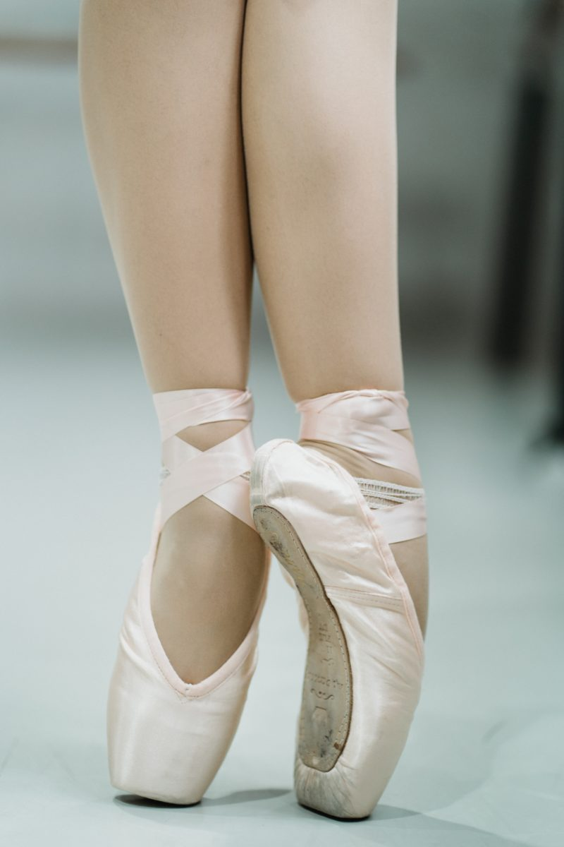 """When I watch these shows and you see these ballerinas, or dance, and the things they do with- their feet is just mangled. And it's like, """"How do they even do that?"""""""
